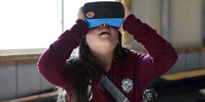 VR kid