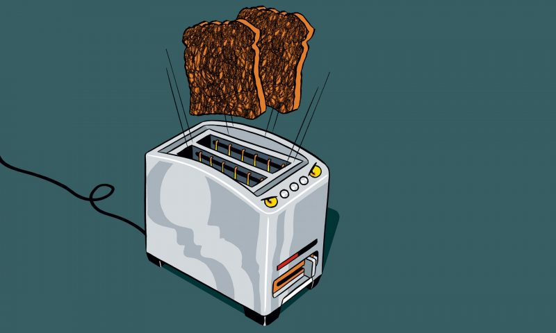Internet-enabled toaster