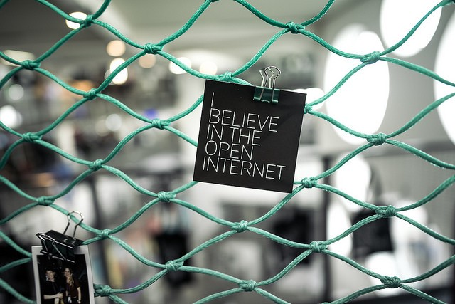 I believe in the open internet