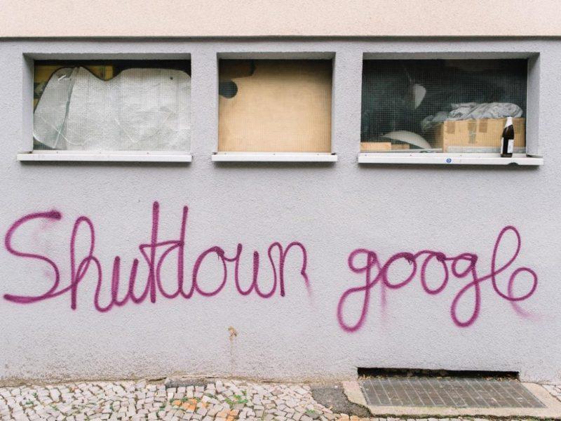 Shutdown Google