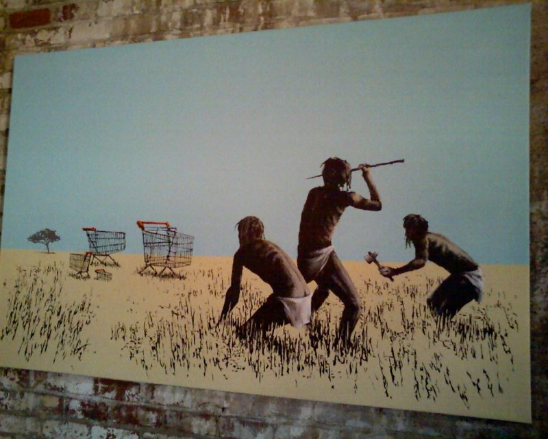 Bansky - hunter gatherers