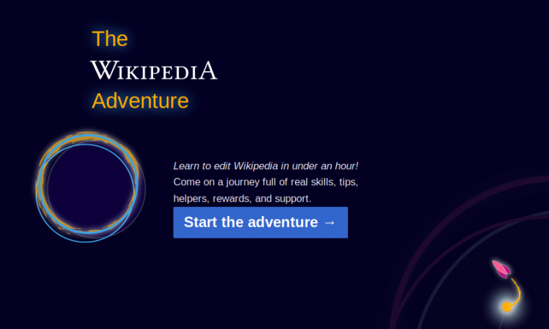 The Wikipedia Adventure