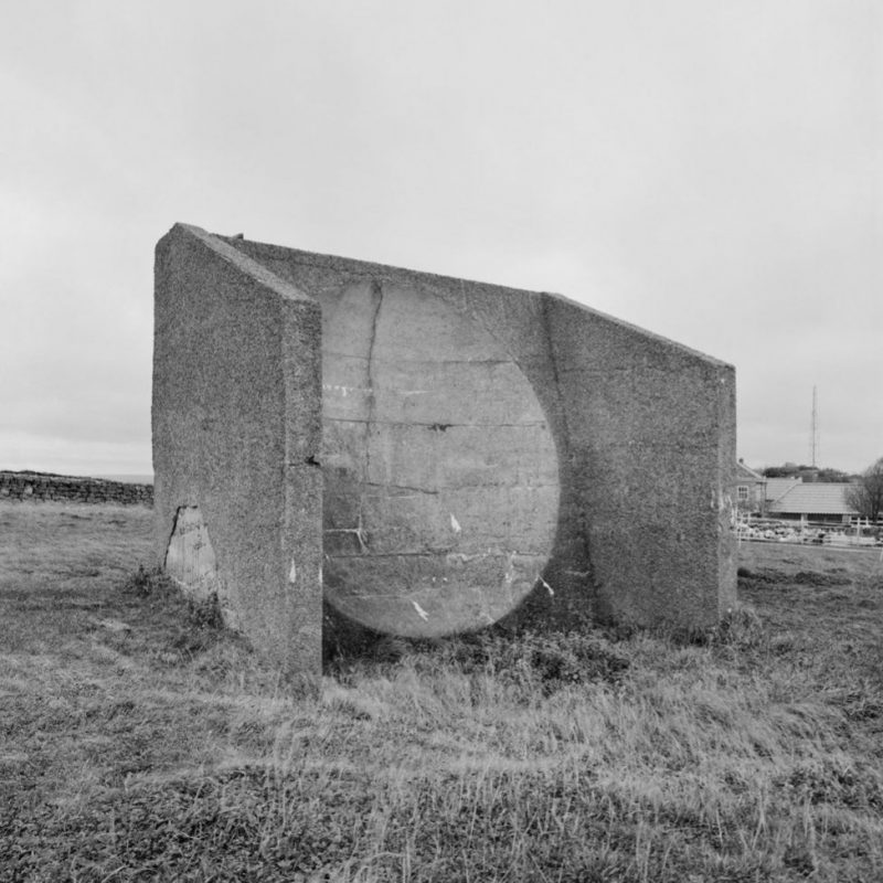 Concrete acoustic mirror
