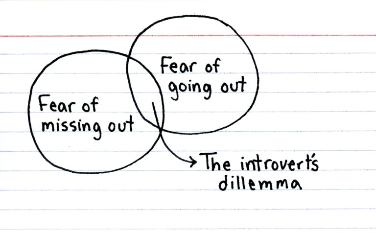 The introvert's dilemma
