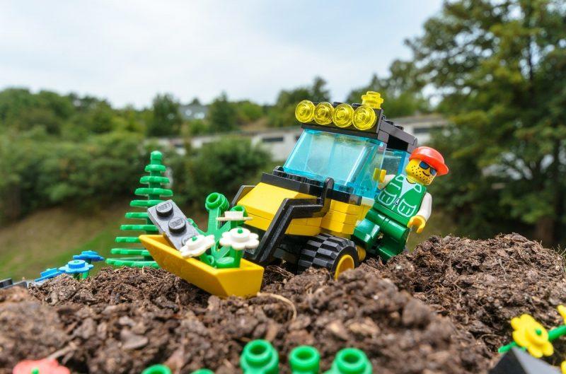 Lego digger