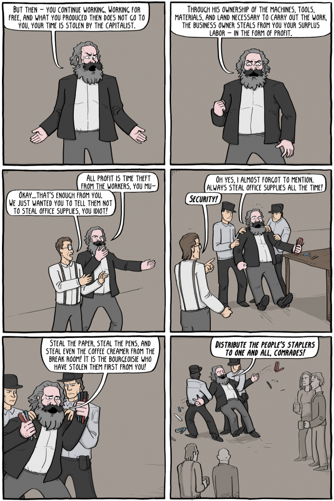Existential Comics - Marx on Business Ethics (2)