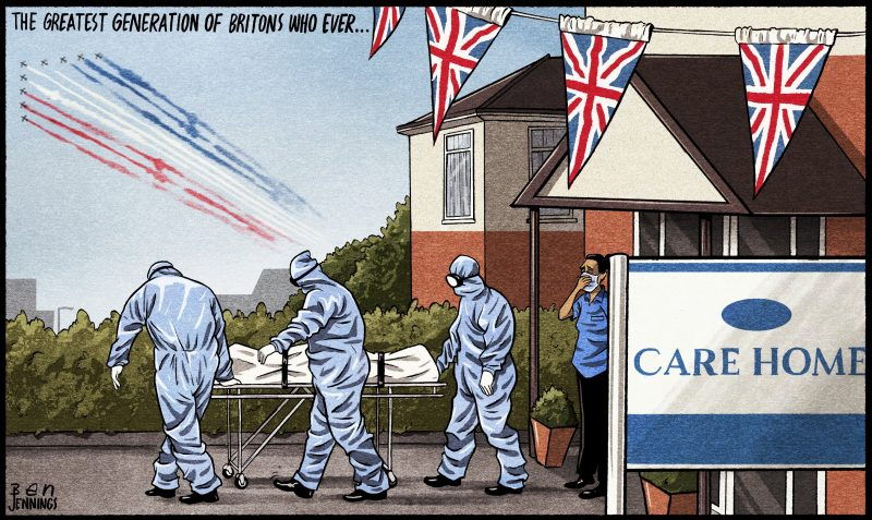 Ben Jennings cartoon
