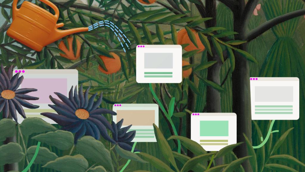 Digital garden